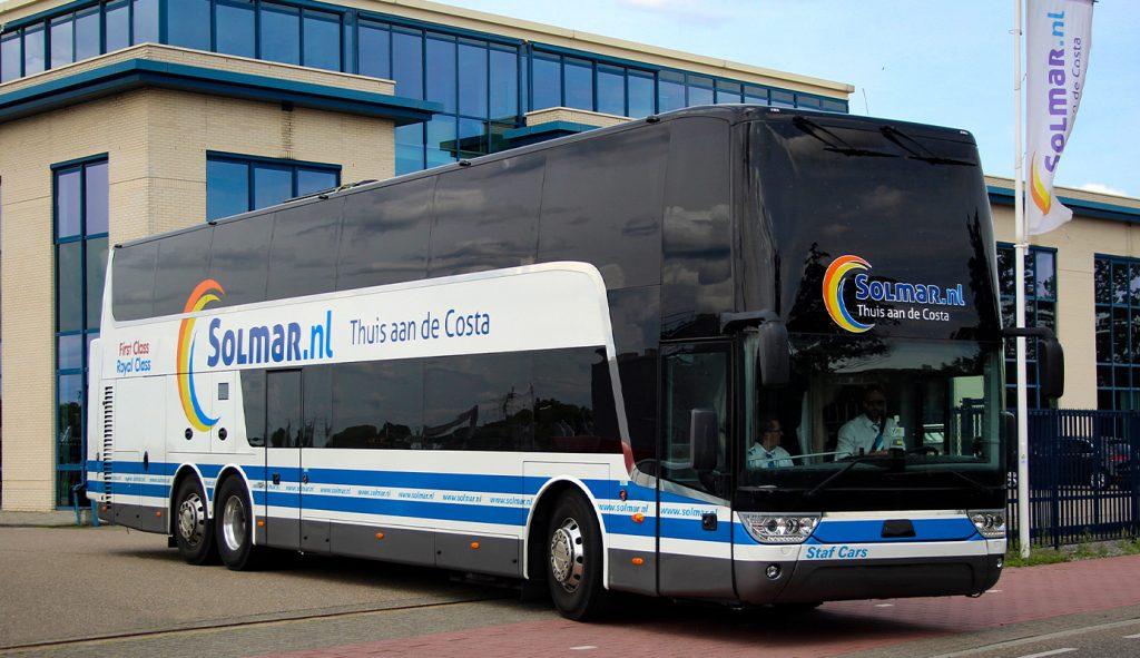Reizen naar de bus met Salou