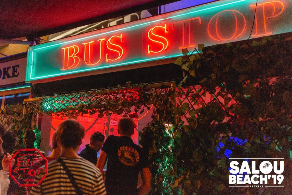 Bus Stop Uitgaan Salou