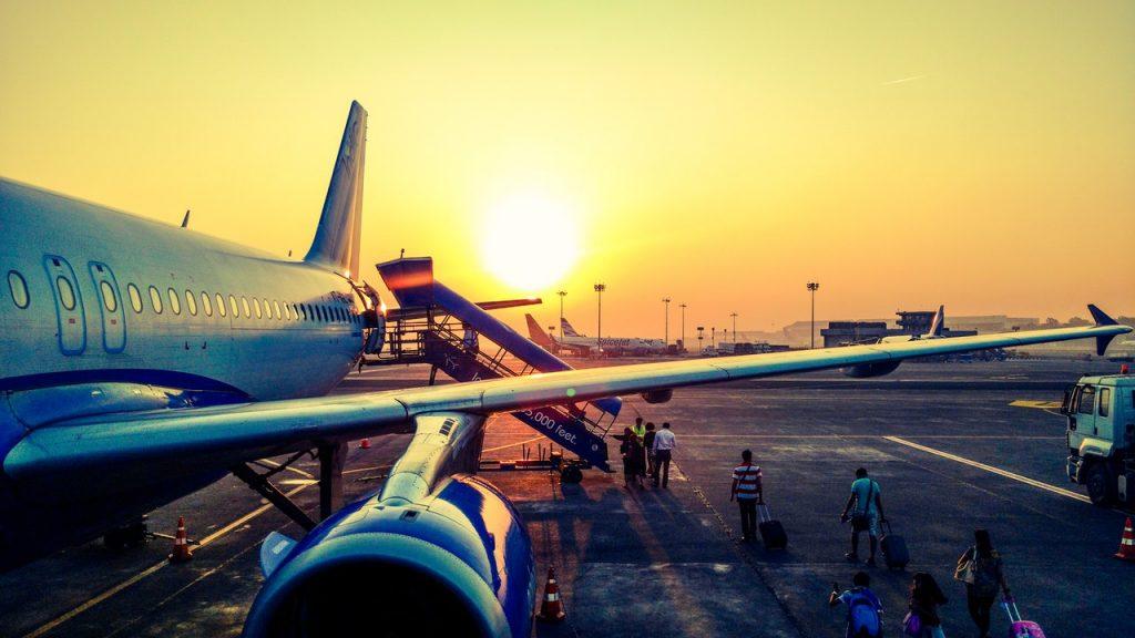 Vliegen naar Salou